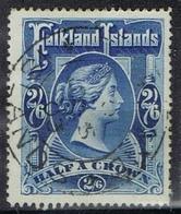 DO7412  FALKLAND  SCHARNIER  YVERT NRS 16 ZIE SCAN - Falkland