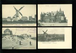 Très Beau Lot De 20 Cartes Postales De Belgique  La Côte   Zeer Mooi Lot Van 20 Postkaarten Van België Kust  - 20 Scans - Cartes Postales