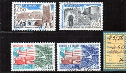 FRANCE  SERVICE OBLITERE N° 75/78 - Officials