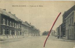 Braine-le-Comte :  Faubourg De Mons  (  Ecrit 1924 Avec Timbre ) - Braine-le-Comte
