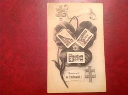 Souvenir De Thionville Croix De Lorraine - Thionville