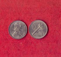 Fiji 10 Cents - 1969.UNC. - Fiji