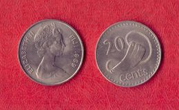 Fiji 20 Cents - 1969.UNC. - Fiji