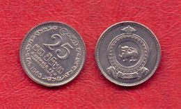 Ceylon, 25 Cents - 1965.UNC. - Sri Lanka