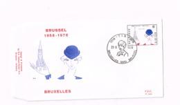 Bruxelles 1958-1978. - FDC