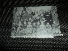 """Origineel Knipsel ( 2101 ) Uit Tijdschrift """" Ons Volk """"  1936 :   Leopoldsburg  Bourg - Léopold - Alte Papiere"""