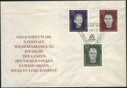 DDR 1960 Mi-Nr. 765/67 FDC - FDC: Briefe