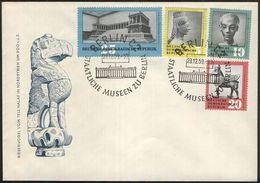 DDR 1959 Mi-Nr. 742/45 FDC - FDC: Briefe