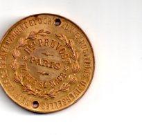France -Médaille Hri Pruvost - Troués-voir état - Sonstige