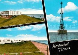 72908234 Tossens Nordseebad Leuchtturm Camping Strand Butjadingen - Germany