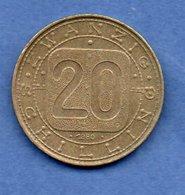 Autriche  -  20 Schilling 1980  -  Km # 2946.1 -  état TTb - Autriche