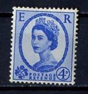 Grande Bretagne - Great Britain - Großbritannien 1958-65 Y&T N°332 - Michel N°324 *** - 4p Reine Elisabeth II - 1952-.... (Elizabeth II)