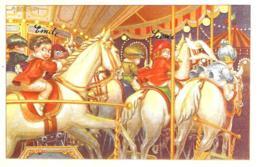 [MD2629] CPM - RIPRODUZIONE - BERTIGLIA - BAMBINI - EDIZIONE NATALE IN GIOSTRA - CON ANNULLO 8.12.2007 - NV - Illustratori & Fotografie
