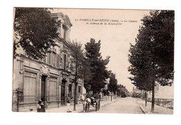 CPA 10 - Romilly Sur Seine ( Aube )  Le Casino Et Avenue De La Boule D'or, Attelage - Romilly-sur-Seine