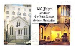 AUSTRALIA - NSW - SYDNEY, 100 Jahre Deutsche Ev.-Luth. Kirche, Aussenansicht, Die Neue Orgel - Sydney