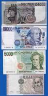 Italie  7  Billets - [ 2] 1946-… : Republiek