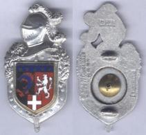 Insigne De La Compagnie De Circulation Routière De Gendarmerie Rhône Alpes ( Lion Blanc ) - Police & Gendarmerie