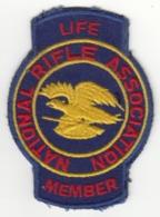 Insigne De Membre à Vie De La National Rifle Association - U.S.A. - Stoffabzeichen