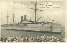 """Nouvelle Calédonie - NOUMEA - Accostage Du Paquebot """" Ville-de-la-Ciotat """" - New Caledonia"""