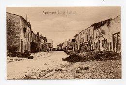 - CPA APRÉMONT (55) - Grande Rue - Edition Julius Berger N° 75 - - France