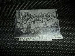"""Origineel Knipsel ( 2136 ) Uit Tijdschrift """" Ons Volk """"  1936 :  Onze - Lieve - Vrouw Tielt - Vieux Papiers"""