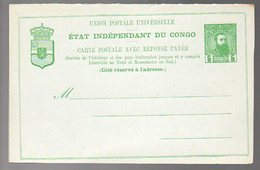 Congo -  ENTIER Stibbe EP12 - Découpe OBLIQUE - Peu Courant - Neuf - TTB    PL5 - Ganzsachen