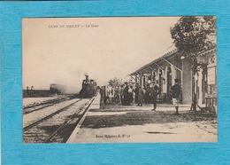 Camp De Mailly ( Aube ). - La Gare. - L'Arrivée Du Train. - Mailly-le-Camp
