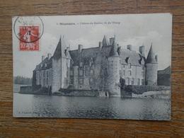 Mézangers , Château Du Rocher , Vu De L'étang - Francia