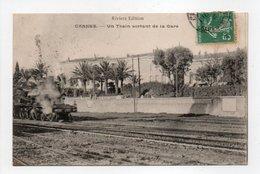 - CPA CANNES (06) - Un Train Sortant De La Gare - Edition Bachelier - - Cannes