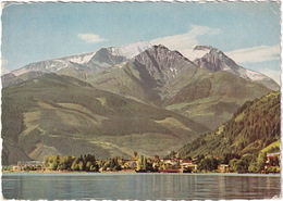 Zell Am See, 758 M Mit Hohen Tenn, 3368 M - (1958) - Zell Am See