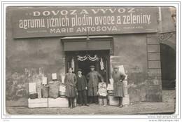PRAHA:  DOVOZA  VYVOZ - IMPORT  EXPORT  -  SMALL  CUP  -  PHOTO  -  FP  -  RRR. - Negozi