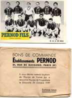 O.G.C. DE NICE - BON DE COMMANDE PERNOD FILS - Soccer