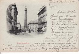 D334Paris, Place Vendome  1900 - Arrondissement: 01