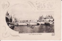 D350Les Bords De La Seine (pli Tres Légère) - De Seine En Haar Oevers