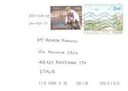 LETTERA X ITALY 100°TOUR  DE FRANCE PISSARRO - Ciclismo