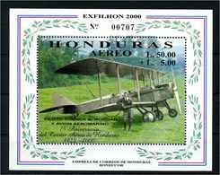 HONDURAS 2000 Bl.66 Postfrisch (107886) - Honduras