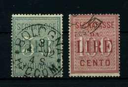 ITALIEN 1884 Nr V2+3 Gestempelt (108162) - Italie