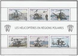 TAAF 2013 Yvert F654 Neuf ** MNH  Les Hélicoptères En Régions Polaires - Blocs-feuillets