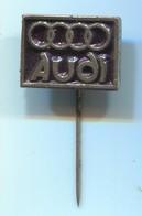 AUDI - Auto Car Automotive, Vintage Pin, Badge, Abzeichen - Audi