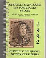 Postzegelcatalogus Belgie 1992 - Belgique