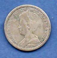 Pays Bas   -  25 Cent 1925    - Km # 146 -  état  TB+ - 25 Cent