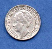 Pays Bas   -  10 Cent 1938   - Km # 163 -  état  TTB+ - [ 3] 1815-… : Royaume Des Pays-Bas