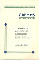 2G9   ---   46   CREMPS  Autour De Cahors Raymond Coly  1950 - Midi-Pyrénées