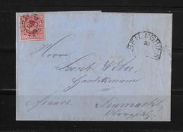 1866 ALTDEUSCHLAND BAYERN → Brief Beilngries Nach Neumarkt/Opf - Bavaria