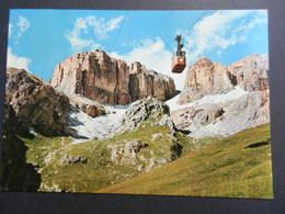 19872) TRENTO FUNIVIA PASSO PORDOI VIAGGIATA BELLA AFFRANCATURA - Trento