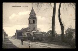 80 - CONDE-FOLIE - L'EGLISE - Frankrijk