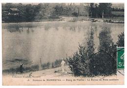CPA MORESTEL Etang De Prailles Poste Auxiliaire - Morestel