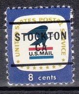 USA Precancel Vorausentwertung Preo, Locals California, Stockton 276 - Vereinigte Staaten