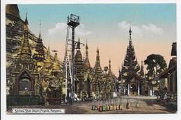 Shrines, Shwe Dagon Pagoda, Rangoon - Ahuja 606 - Myanmar (Burma)