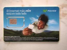 SIM  GSM   MOVISTAR COSTA RICA  TOP MINT - Costa Rica